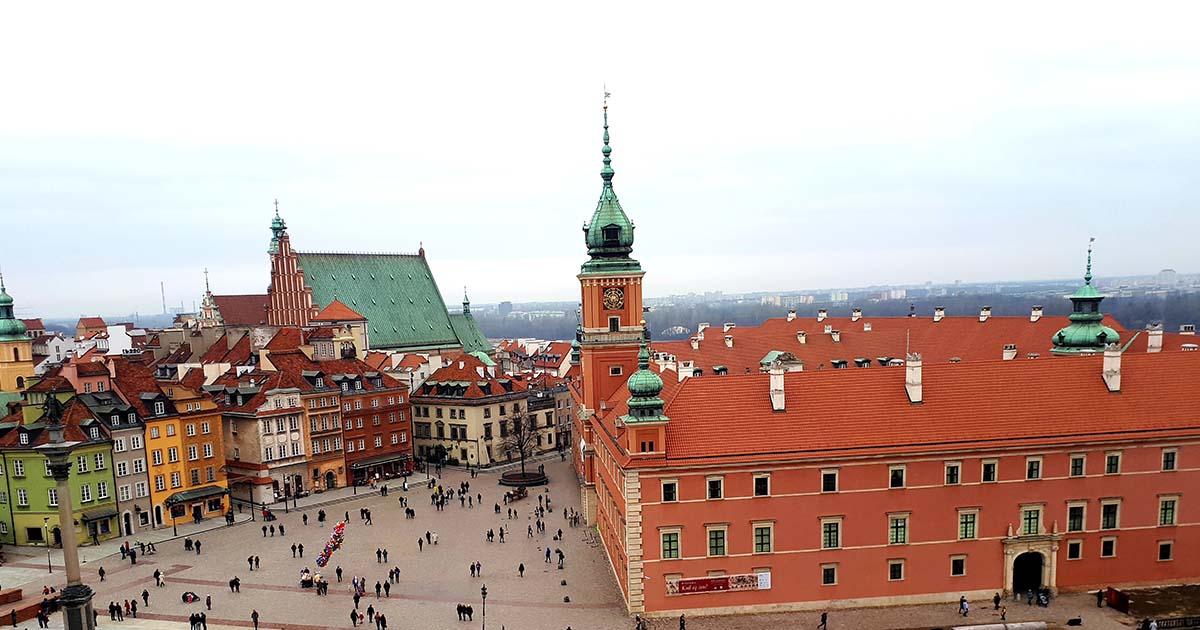 Viagem Varsóvia