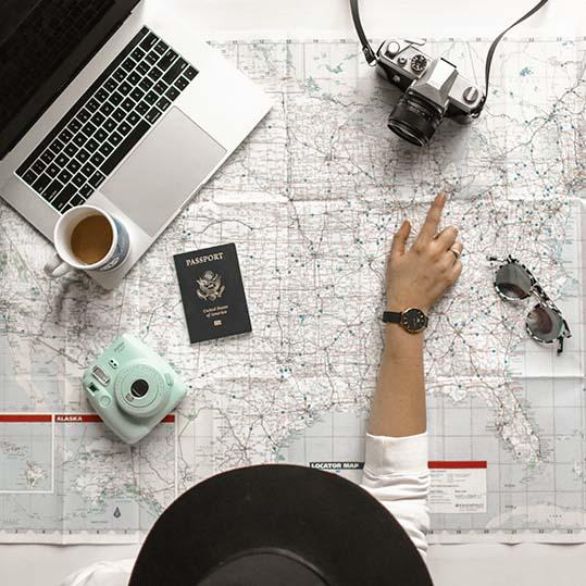 Viagens e Excursões