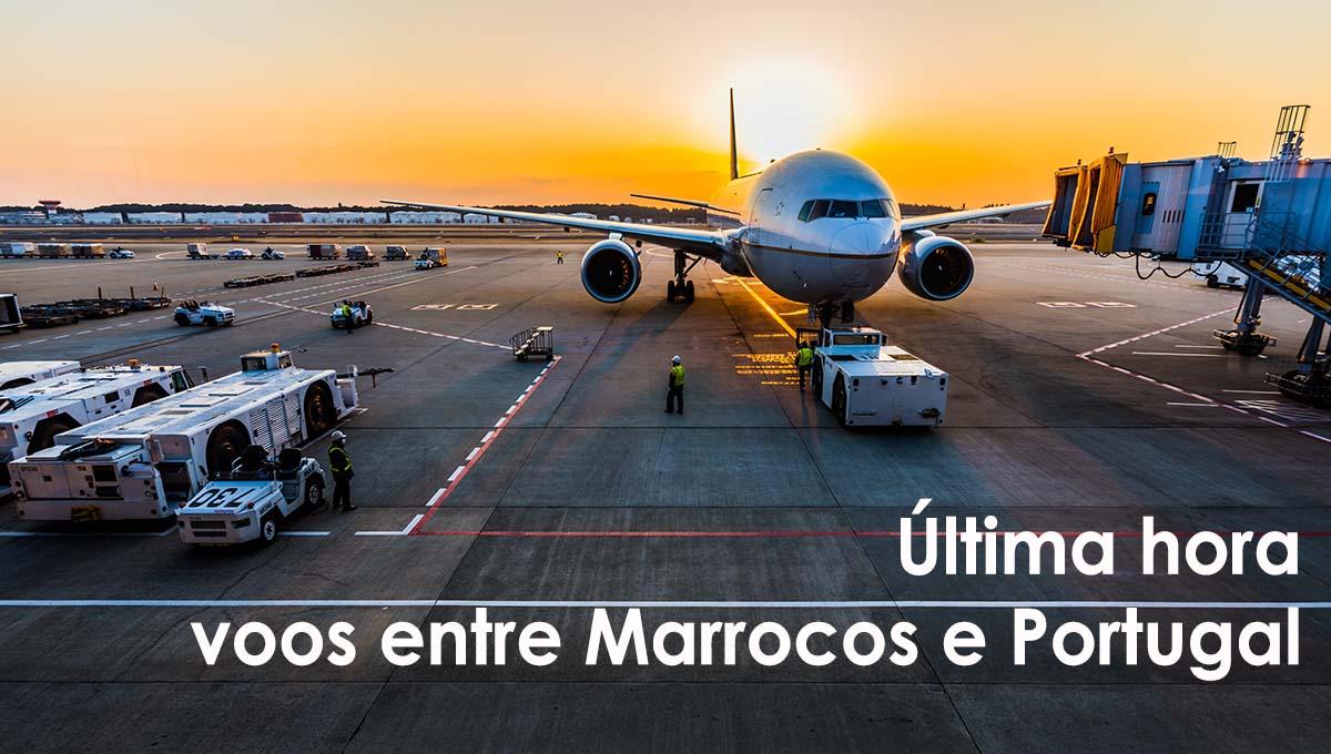 CORONAVIRUS Suspensão de voos entre Marrocos e Portugal