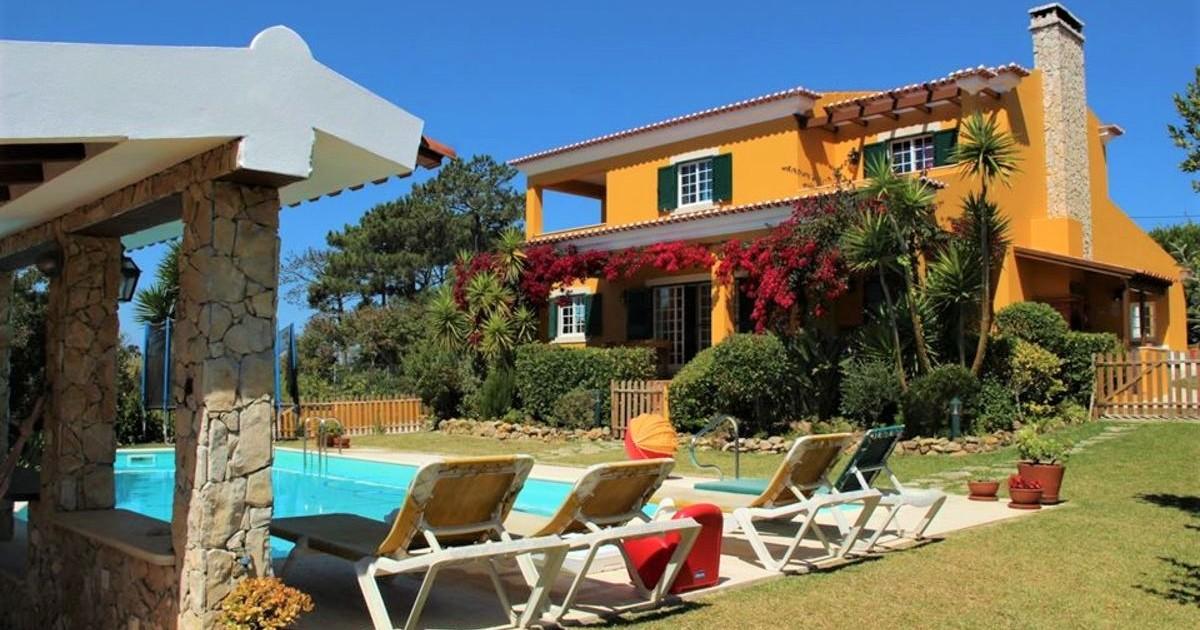 Casa de férias com piscina na Ericeira